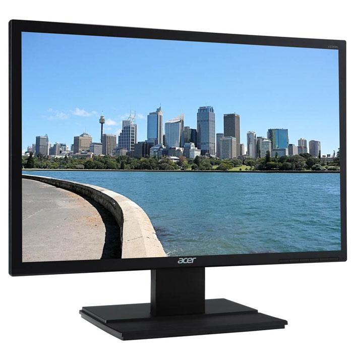 Acer V246HLBMD, Black мониторUM.FV6EE.006Купить ЖК монитор Acer V246HLbmd - значит стать обладателем превосходного инструмента для компьютерных игр, который благодаря быстрой TN матрице с малым временем отклика в 5 мс обеспечит плавный геймплей и отсутствие эффекта размытости движущихся объектов в динамичных играх. Широкоформатный LCD монитор Acer V246HLbmd оснащен экраном диагональю 24 дюйма формата 16:9 с разрешением 1920 x 1080 пикселей, матовое покрытие которого предотвращает появление бликов, за счет чего вам ничто не сможет помешать работать и играть даже при ярком свете солнца. Встроенные колонки позволят сэкономить на покупке внешней акустической системы, а с помощью дополнительно приобретаемого кронштейна VESA вам не составит никакого труда закрепить ЖК монитор Acer V246HLbmd на стене. Доступная цена делает LCD монитор Acer V246HLbmd желанным и выгодным приобретением.