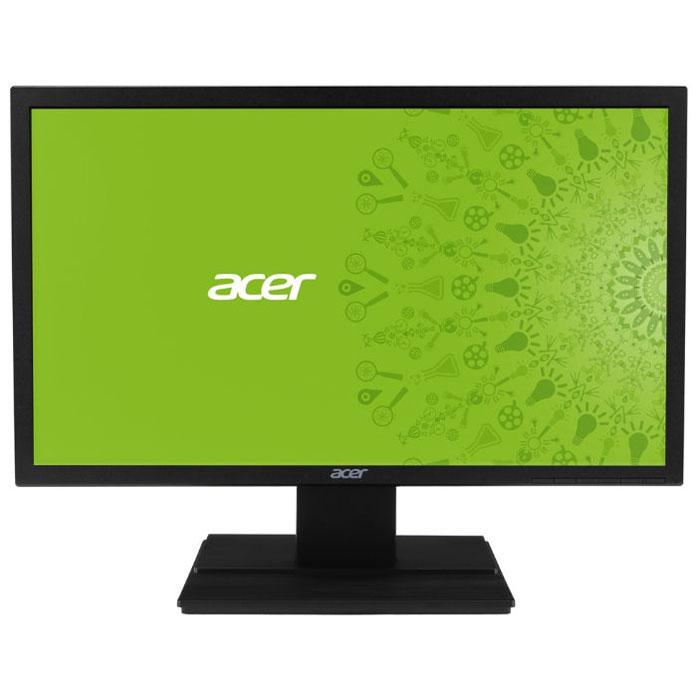 Acer V246HLBD, Black мониторUM.FV6EE.002Купить ЖК монитор Acer V246HLbd - значит стать обладателем превосходного устройства визуализации для компьютерных игр, который благодаря быстрой TN матрице с малым временем отклика в 5 мс обеспечит плавный геймплей и отсутствие эффекта размытости движущихся объектов в динамичных играх. Широкоформатный LCD монитор Acer V246HLbd оснащен матовым 24 дюймовым экраном с соотношением сторон 16:9 и разрешением 1920 x 1080 пикселей, который обеспечивает не только отсутствие бликов, но и высокую детализацию изображения в фильмах и играх Full HD качества. С помощью дополнительно приобретаемого кронштейна VESA вам не составит никакого труда закрепить ЖК монитор Acer V246HLbd на стене.
