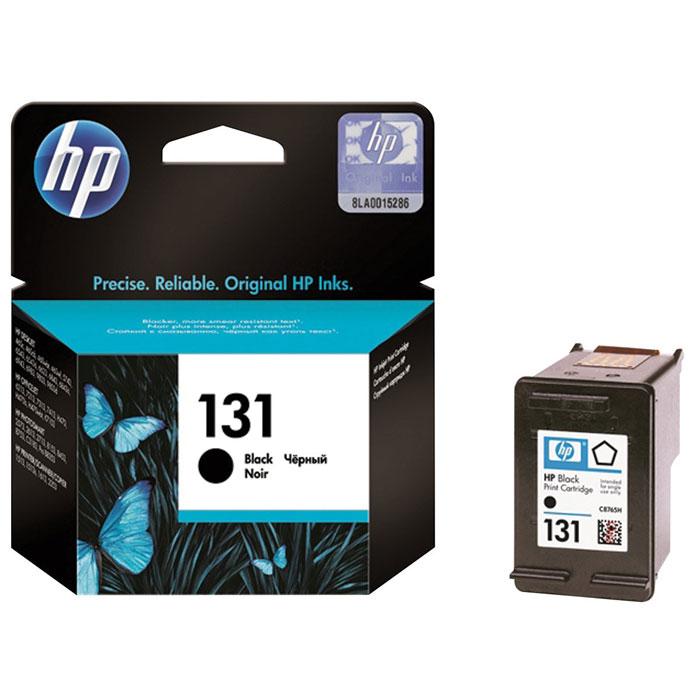 HP C8765HE (131), Black струйный картриджC8765HEС помощью чёрного картриджа для принтеров HP 131 с чернилами Vivera можно печатать насыщенный чёрный