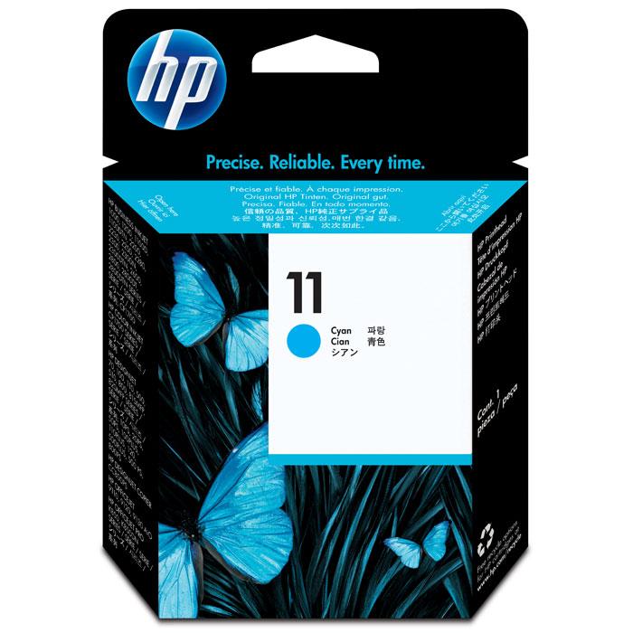 HP C4811A (11), Cyan струйный картриджC4811AГолубая печатающая головка НР 11 обеспечивает исключительные показатели скорости и качества печати благодаря применению технологии формирования сверхмалых чернильных капель. Печатающая головка включает интеллектуальную технологию оптимизации качества печати и контроля работоспособности. Отдельные чёрные и цветные печатающие головки, при необходимости предусматривающие возможность индивидуальной замены. Интегрированная печатающая головка шириной примерно 1,25 см, оснащенная 304 соплами, повышает скорость печати до двух раз по сравнению со струйными принтерами предыдущих моделей. Усовершенствованная технология HP Photoret III послойного формирования цвета HP обеспечивает более плавные цветовые переходы и непосредственное воспроизведение цветов при печати путём наложения нескольких капель чернил на одну точку. Капля чернил: 4 пл Совместимые типы чернил: на основе красителя Совместимость: HP Designjet 110plus/815 MFP/820 MFP; HP DesignJet copier...