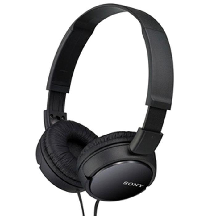 Sony MDR-ZX110, Black наушникиMDR-ZX110 BlackSony MDR-ZX110 - качественные мониторные наушники с классическим оголовьем для вашего устройства, надежно прижимающим динамики к ушам и распределяющим нагрузку по всей голове. Удобная «посадка» обеспечивает долгое, комфортное ношение. Внушительных размеров динамики передают чистый звук с выразительными низами и звонкими верхами. Sony MDR-ZX110 отлично подходят как для прослушивания музыки всех жанров, радио, игр, так и для просмотра видеороликов и фильмов. Данная модель совместима с мобильными устройствами, имеющими аудиовыход 3.5 мм.