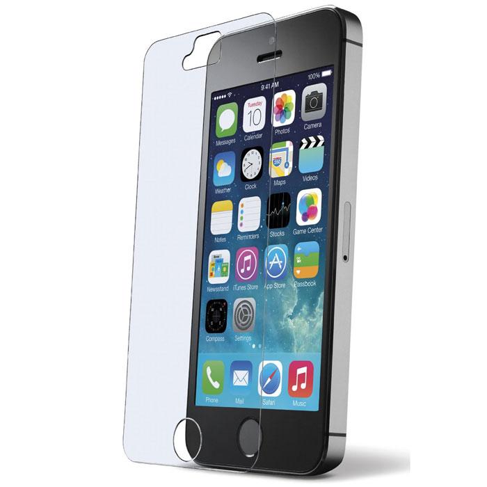 Cellular Line Second Glass защитное стекло для iPhone 5TEMPGLASSIPH5Cellular Line Second Glass - прочная защитная пленка для вашего смартфона. Обеспечивает более высокий уровень защиты по сравнению с обычной пленкой. При этом яркость и чувствительность дисплея не будут ограничены. Препятствует появлению воздушных пузырей и надежно крепится на экране устройства.