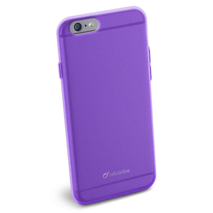 Cellular Line Color Slim чехол для iPhone 6, PurpleCOLORSLIPH647VCellular Line Color Slim - мягкий и качественный полупрозрачный чехол для вашего смартфона в различных цветовых вариациях. Все разъемы и элементы управления устройством легко доступны.