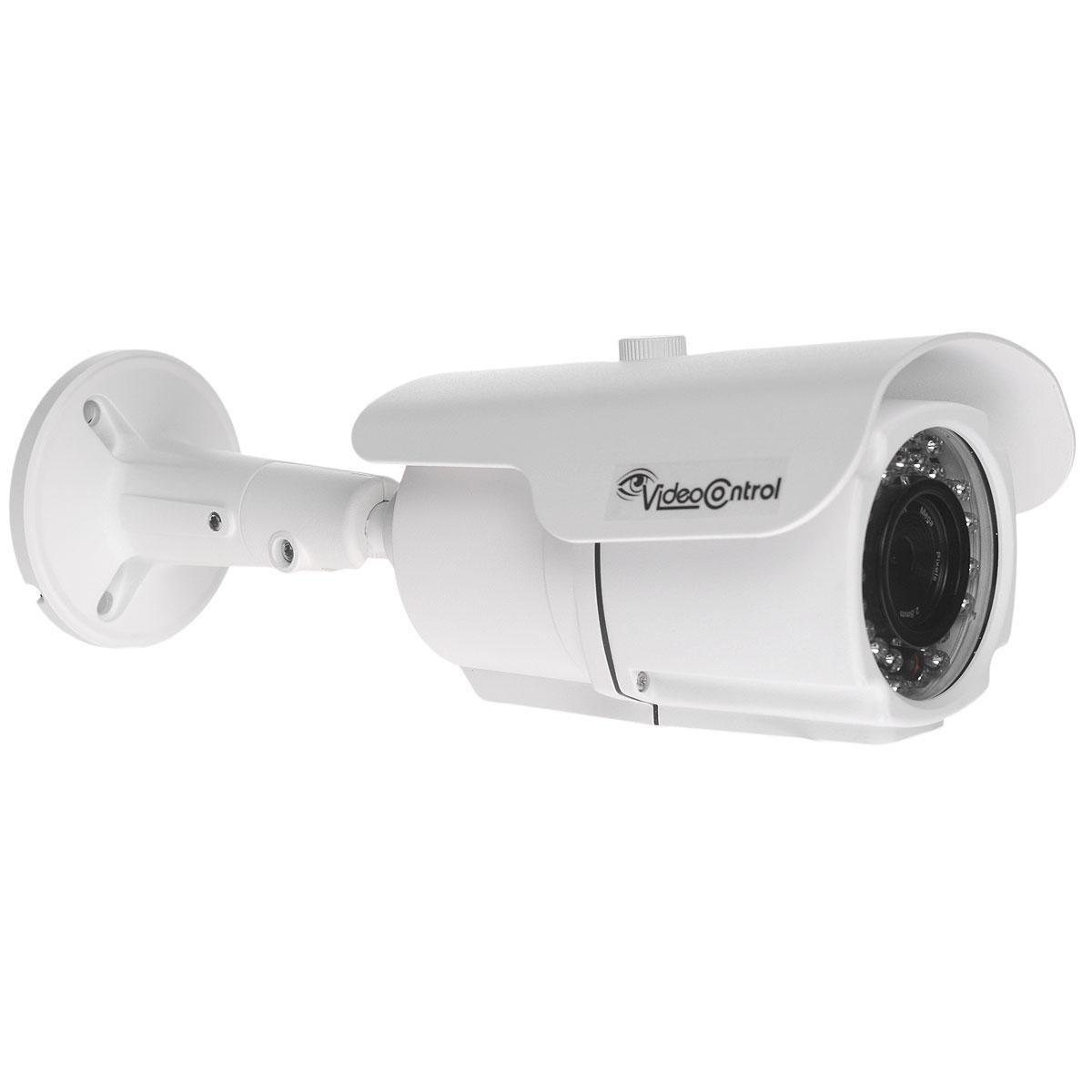 Video Control VC-IR81520IPA-P IP камера видеонаблюденияVC-IR81520IPA-PАнтивандальная цветная уличная всепогодная IP видеокамера высокого разрешения Video Control VC-IR81520IPA-P предназначена для использования на улице и в помещении, например, дача, улица, подъезд, склад, ангар, офис. С помощью уличной сетевой камеры вы быстро сможете установить видеонаблюдение за любым объектом из любой точки мира. Используя возможность удаленного подключения к данной камере через браузер (Internet Explorer, Safari, Google Chrome, Firefox). Вы можете просматривать и записывать все, что происходит в другом помещении с любого устройства, будь то компьютер, телефон, планшет. В данной IP-камере реализована поддержка практически всех мобильных платформ - IPhone, Ipad, Android, Blackberry, Symbiam и т.д.Video Control VC-IR81520IPA-P поддерживает ONVIF протокол, что позволяет использовать камеру в комбинации с любыми совместимыми сетевыми камерами, видеорегистраторами, системами управления. Сетевая камера оборудована высококачественным объективом с фокусным расстоянием f=2.8мм,а также высокочувствительной матрицей Aptina для получения изображения высокого разрешения. А использование ИК подсветки в ночное время с корректирующим фильтром изображения позволит получить бесподобное качество видеоизображения. Для удобства пользования ко всем ИП камерам Video control предлагается бесплатный облачный сервис для мониторинга из любого места. Также данная модель поддерживает стандарт передачи питания через витую пару PoE.