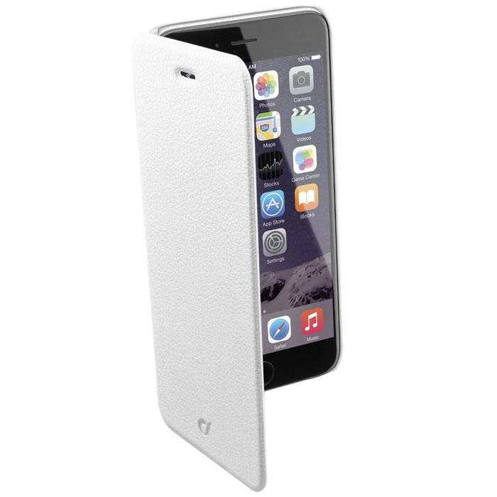 Cellular Line Book Essential чехол для iPhone 6, White (21829)BOOKESSIPH647WЧехол Cellular Line Book Essential для iPhone 6 предназначен для защиты устройства от механических повреждений и влаги. Имеет свободный доступ ко всем разъемам телефона.