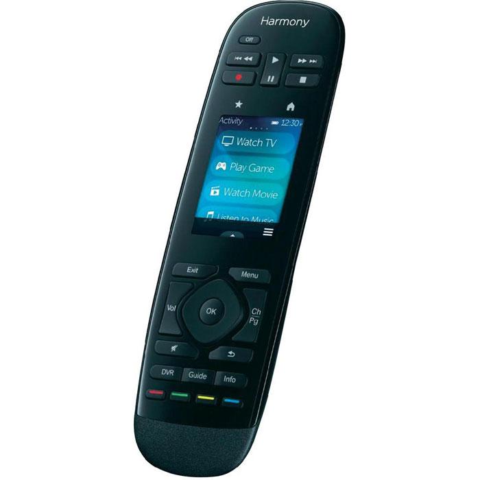 Logitech Harmony Ultimate (915-000203) пульт ДУ915-000203Универсальный пульт Logitech Harmony Ultimate (915-000203) оснащен 2.4 цветным сенсорным дисплеем, и способен управлять множеством различных моделей домашних устройств, в том числе и лампами Philips Hue, меняя их цвет и яркость. Возможна связь с 15 устройствами по каналу Bluetooth через входящий в комплект Harmony Hub. Данная модель позволит также осуществлять управление через мобильное приложение Harmony App для смартфонов и планшетов.