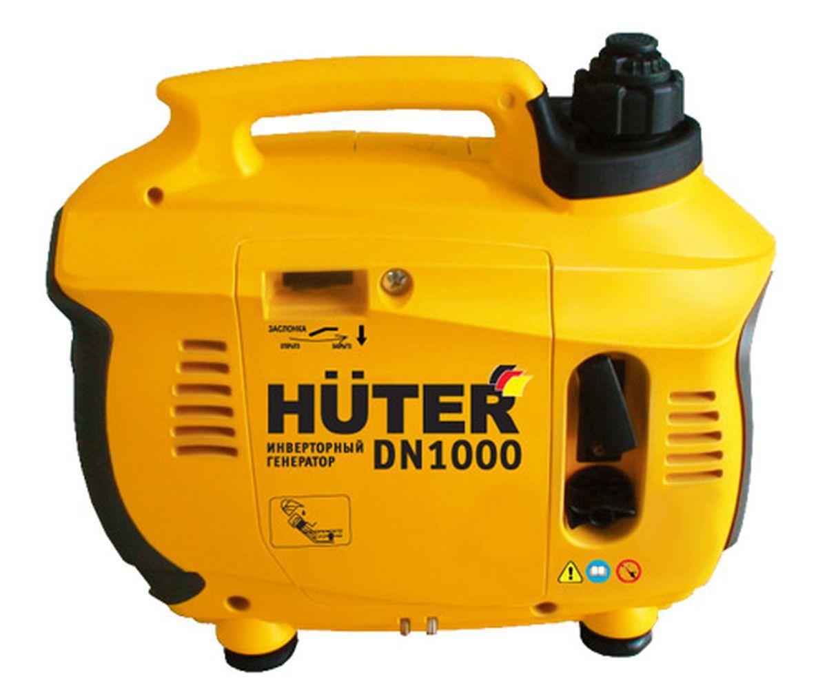 Генератор Huter DN1000DN1000Инверторный генератор Huter DN1000 предназначен для использования в качестве основного источника электроэнергии, например, во время поездок на природу, или же в качестве резервного источника питания в случаях непредвиденного отключения электроэнергии. Инверторная технология обеспечивает стабильное напряжение на выходе. Аппарат имеет защиту от перегрузок, которая исключает выход из строя.