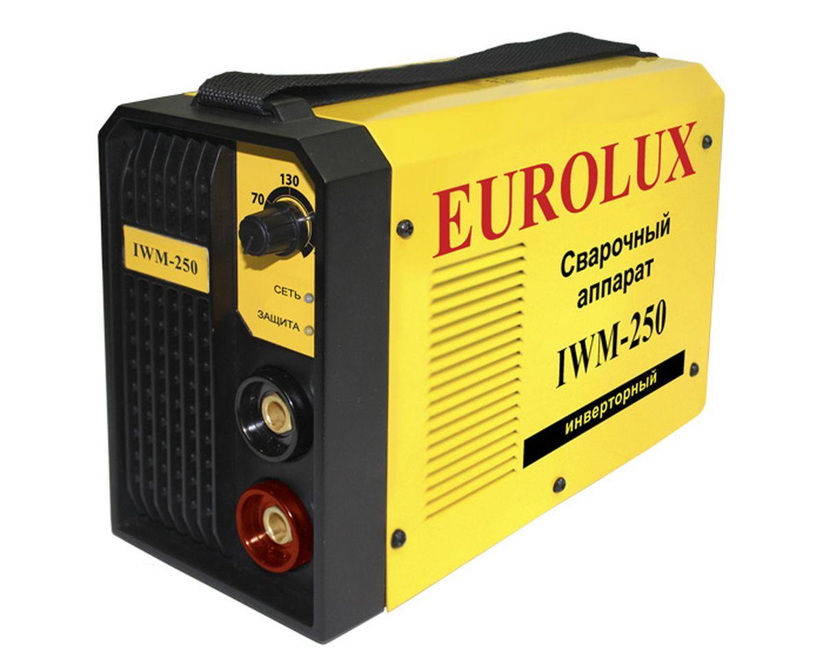 Eurolux IWM 250 инверторный сварочный аппарат 65/29.