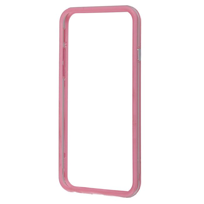Liberty Project Bumpers чехол-накладка для iPhone 6, Clear PinkR0005477Чехол-накладка Liberty Project Bumpers для iPhone 6 защитит ваш гаджет от механических повреждений. Чехол имеет свободный доступ ко всем разъемам и клавишам устройства.