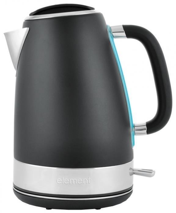 Element ElKettle WF05MBM, Black электрический чайникWF05MBMОсобая отделка корпуса создает неповторимый характер данной модели. Другая сторона дизайна этого чайника – его функциональность. Фирменное покрытие CLEAN TOUCH защищает поверхность от следов и отпечатков пальцев. Кипячение сопровождается мягкой белой подсветкой. Бескомпромиссная надежность и долговечность обеспечивается прочным корпусом из нержавеющей стали и комплектующими от проверенных производителей.