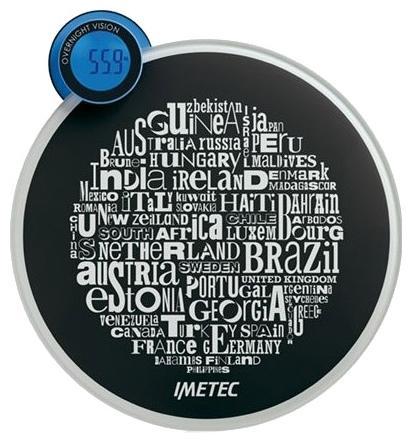 Imetec BS3 300 (5667) весы напольные5667Электронные весы Imetec 5667 станут незаменимым помощником для тех, кто внимательно следит за своим весом. Высокую точность взвешивания обеспечивают четыре чувствительных датчика. Поверхность весов изготовлена из закаленного стекла, что позволяет выдерживать большую нагрузку.