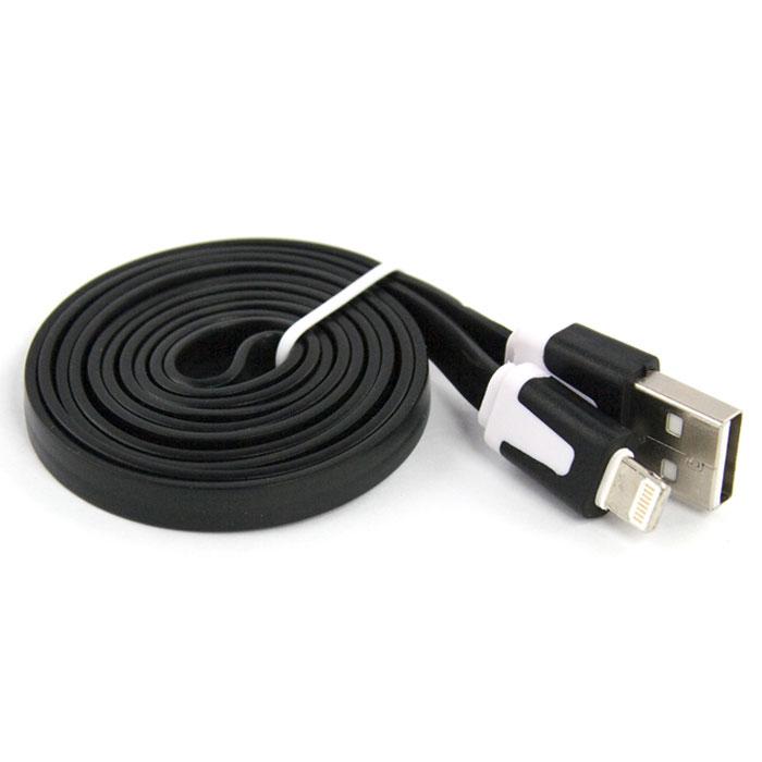 Liberty Project дата-кабель Apple Lightning плоский узкий, Black (европакет)SM000107Кабель Liberty Project Apple Lightning предназначен для передачи данных с вашего устройства на персональный компьютер, а также зарядки от источников питания с USB выходом.