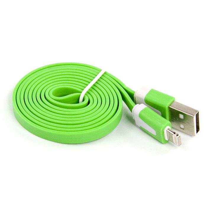 Liberty Project дата-кабель Apple Lightning плоский узкий, Green (европакет)SM000112Кабель Liberty Project Apple Lightning предназначен для передачи данных с вашего устройства на персональный компьютер, а также зарядки от источников питания с USB выходом.