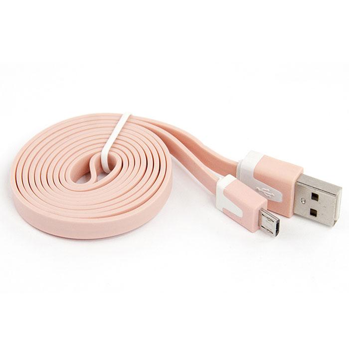 Liberty Project дата-кабель Apple Lightning плоский узкий, PinkR0003904Кабель Liberty Project Apple Lightning предназначен для передачи данных с вашего устройства на персональный компьютер, а также зарядки от источников питания с USB выходом.