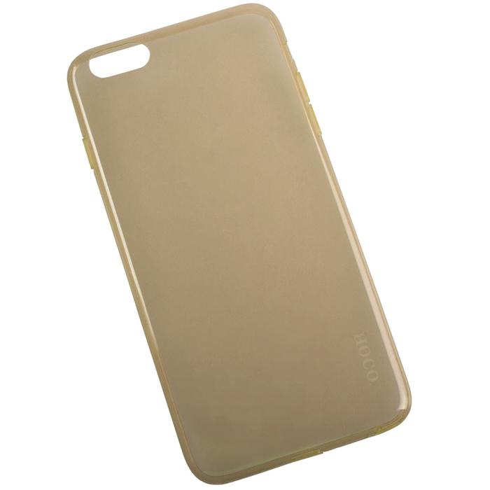 Hoco Light Series UltraSlim защитная крышка для iPhone 6 Plus, GoldR0007596Задняя крышка (кейс) Hoco Light Series UltraSlim для iPhone 6 Plus гарантирует надежную защиту корпуса вашего смартфона от внешнего воздействия (пыль, влага, царапины). Чехол изготовлен из качественного пластика и имеет отверстия для камеры и разъемов.