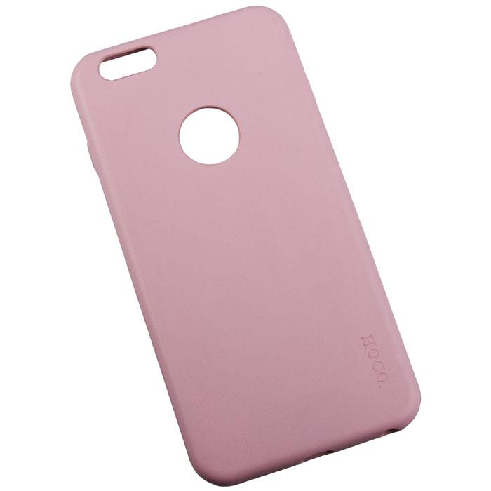 Hoco Paris Series защитная крышка для iPhone 6 Plus, PinkR0007616Задняя крышка (кейс) Hoco Paris Series для iPhone 6 Plus гарантирует надежную защиту корпуса вашего смартфона от внешнего воздействия (пыль, влага, царапины). Чехол изготовлен из качественных материалов и имеет отверстия для камеры и разъемов.