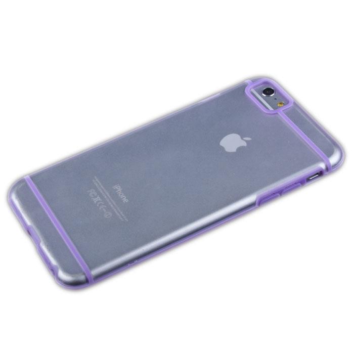 Liberty Project защитная крышка для iPhone 6 Plus, Lilac Striped ClearR0006706Защитная крышка Liberty Project для iPhone 6 Plus защитит ваш гаджет от механических повреждений. Чехол имеет свободный доступ ко всем разъемам и клавишам устройства.