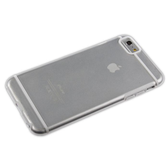 Liberty Project защитная крышка для iPhone 6 Plus, White Striped ClearR0006703Защитная крышка Liberty Project для iPhone 6 Plus защитит ваш гаджет от механических повреждений. Чехол имеет свободный доступ ко всем разъемам и клавишам устройства.