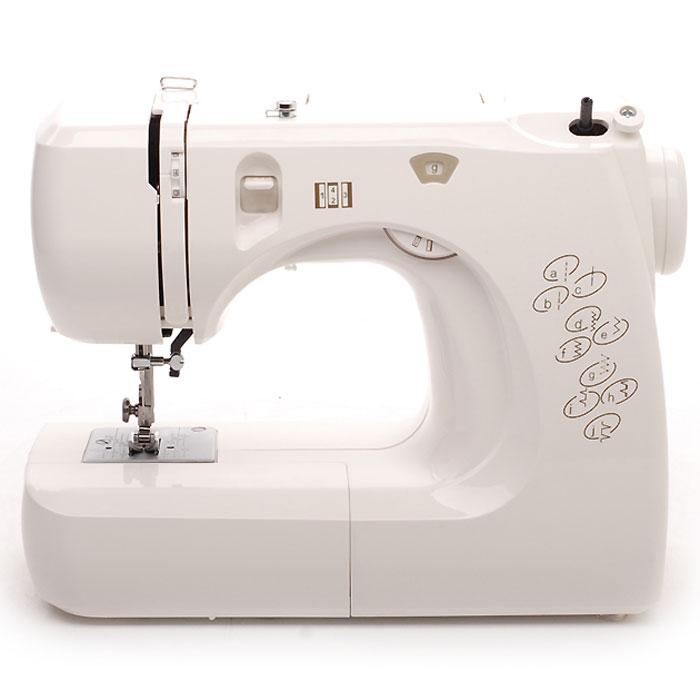 Comfort 12 швейная машина12Швейная машина Comfort 12 - это современная бытовая настольная электромеханическая швейная машина, оснащенная несмазываемым горизонтальным челночным устройством ротационного типа. Такой тип челночного устройства позволяет очень быстро вставлять шпульку с намотанной на нее нитью в челнок. Швейная машина предназначена для выполнения 8 простых швейных операций, обеспечивающих владельца всеми возможностями для ремонта одежды и пошива несложных швейных изделий, не требующих специальных опций, доступных машинам более высокого класса или специальным швейным машинам. Машина модели Comfort 12 оснащена ножным приводом, позволяющим регулировать скорость. Механизм швейной машины приводится в действие электродвигателем, вращающим маховик, что существенно повышает ее возможности и позволяет шить помимо легких и средних тканей, плотные ткани типа джинсовой. Съемная рукавная платформа поможет вам прострочить манжеты, рукава и штанины на брюках. Автоматический нитевдеватель не даст...