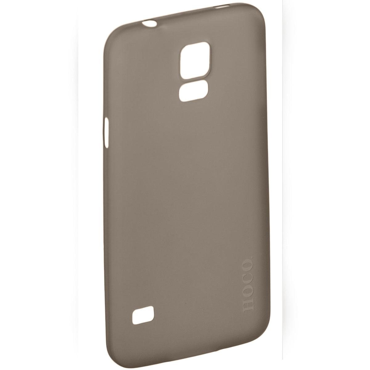 Hoco Thin Series защитная крышка для Samsung Galaxy S5, BlackR0004848Задняя крышка Hoco Thin Series для Samsung Galaxy S5 гарантирует надежную защиту корпуса вашего смартфона от внешнего воздействия (пыль, влага, царапины). Чехол изготовлен из качественного пластика и имеет отверстия для камеры, разъемов и кнопок.