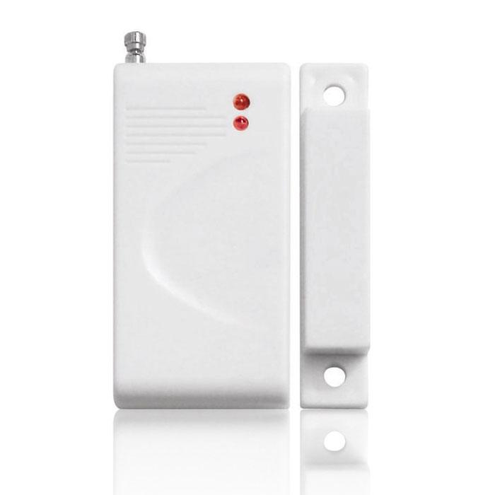 Sapsan DM-100 беспроводной датчик открытия двериDM-100Sapsan DM-100 - беспроводной датчик открытия двери, который работает по принципу взаимодействия магнитного детектора, расположенного на неподвижной части двери или рамы, и магнита, установленного на движущейся части конструкции, в ходе которого происходит размыкание притягивавшихся элементов. При этом расстояние между двумя этими элементами датчика не должно превышать 1,5 см. Важным ограничением также является то, что беспроводные датчики данной модели не предназначены для размещения на металлических дверях.Тип элемента питания: А23