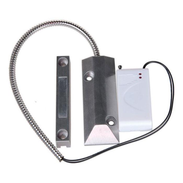 Sapsan SDM-100 беспроводной датчик открытия металлической двериSDM-100Sapsan SDM-100 - радиоканальный охранный датчик. Выполнен в металлическом корпусе, предупреждает о проникновении через радио сигнал подаваемый на контрольную панель. Предназначен для установки на все виды металлических дверей (гаражные ворота, рольставни и т.д.). Принцип работы заключается в размыкании детектора и магнита, установленного в ответной части.Расстояние срабатывания: до 15 мм