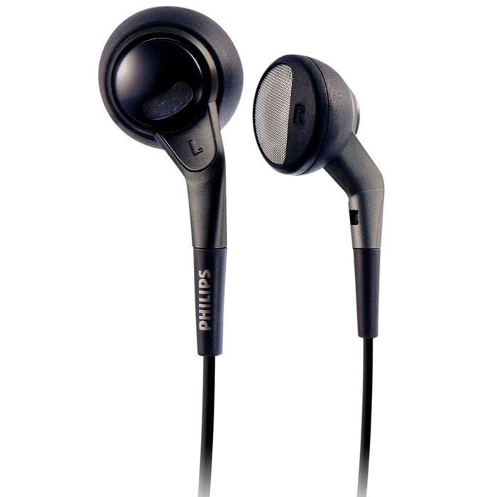 Philips SHE2550/10 наушникиSHE2550/10Наушники Philips SHE2550 с двойными отверстиями обладают более сбалансированным и натуралистичным звучанием. Вы получите больше наслаждения при прослушивании музыки на ходу. Неодимовый магнит усиливает звучание басов и чувствительность. Неодим является наилучшим материалом для создания сильного магнитного поля в целях улучшения чувствительности в звуковой катушке, улучшения НЧ характеристики и повышения общего качества звучания. Достаточно небольшой для оптимальной подгонки и в то же время достаточно большой для обеспечения чистого звучания без искажений, этот 15-мм электроакустический преобразователь динамика имеет идеальный размер для прослушивания. Наличие мягкой и гибкой части защищает соединение шнура от повреждения, которое в случае его отсутствия произойдет из-за частого сгибания. Специальным образом спроектированные двойные отверстия пропускают воздух для балансировки высоких и низких частот и более сглаженного звучания....