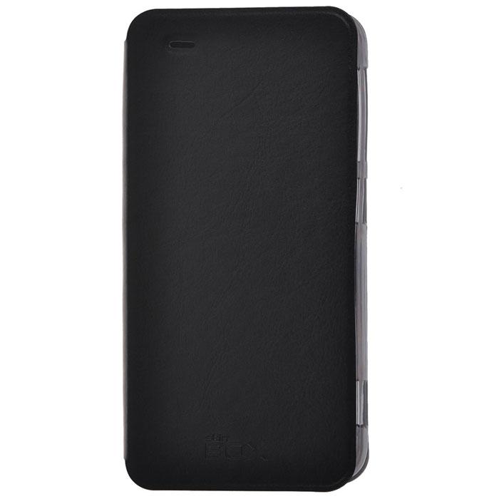 Skinbox Lux чехол для HTC Desire Eye, Black2000000032955Чехол Skinbox Lux выполнен из высококачественного поликарбоната и экокожи. Он обеспечивает надежную защиту корпуса и экрана смартфона и надолго сохраняет его привлекательный внешний вид. Чехол также обеспечивает свободный доступ ко всем разъемам и клавишам устройства.