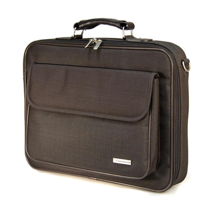 Continent CC-03, Brown сумка для ноутбука 15,6