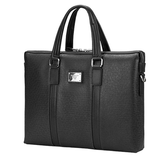 Continent CM-142, Black сумка для ноутбука 15,6CM-142 BlackContinent CM-142 - эргономичная и стильная сумка для вашего ноутбука с дисплеем до 16 дюймов. Изделие имеет два основных внутренних отделения. В остальные внутренние карманы можно поместить различные аксессуары и принадлежности.