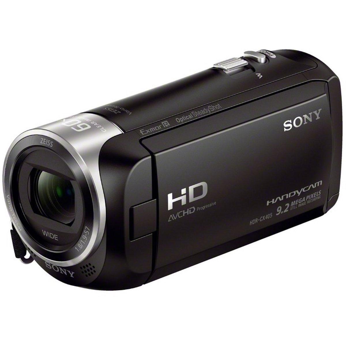 Sony HDR-CX405B видеокамераHDRCX405B.CELВидеокамера Sony HDR-CX405B с возможностью записи в форматах HD и XAVC S и технологией стабилизации изображения Optical SteadyShot. Оптический стабилизатор Optical SteadyShot с интеллектуальным активным режимом: Усовершенствованная стабилизация изображения обеспечивает четкость записи даже при отсутствии устойчивости камеры при съемке. Широкоугольный объектив до 26,8 мм: Если вы снимаете видео или занимаетесь фотосъемкой, лучший в своем классе широкоугольный объектив дает больше возможностей при съемке пейзажей и сцен внутри помещения, когда у вас недостаточно места, чтобы отступить назад. Даже без широкоугольной насадки на объектив некоторые видеокамеры снимают на фокусном расстоянии 26,8 мм (при соотношении сторон изображения 16:9) в режиме видео. Motion Shot Video: Режим MotionShot Video позволяет воспроизвести серию наложенных изображений, проследить динамику движения объекта съемки в каждой фазе и внимательно...