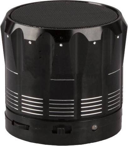 Liberty Project S12, Black беспроводная колонкаR0004242S12 - это портативная акустическая система, совместимая с большинством аудио устройств. Небольшие размеры и встроенный аккумулятор дают возможность использовать колонки в мобильном режиме, в любом месте, где нет электричества. Скромные с виду динамики обеспечивают вполне серьезную громкость и с легкостью озвучивают небольшое помещение или место пикника, отдыха. Для подключения можно использовать стандартный аудиоразъем 3.5 мм или Bluetooth соединение. S12 - прекрасное решение для всех, кто хочет слушать любимую музыку в компании и не зависеть от розетки.