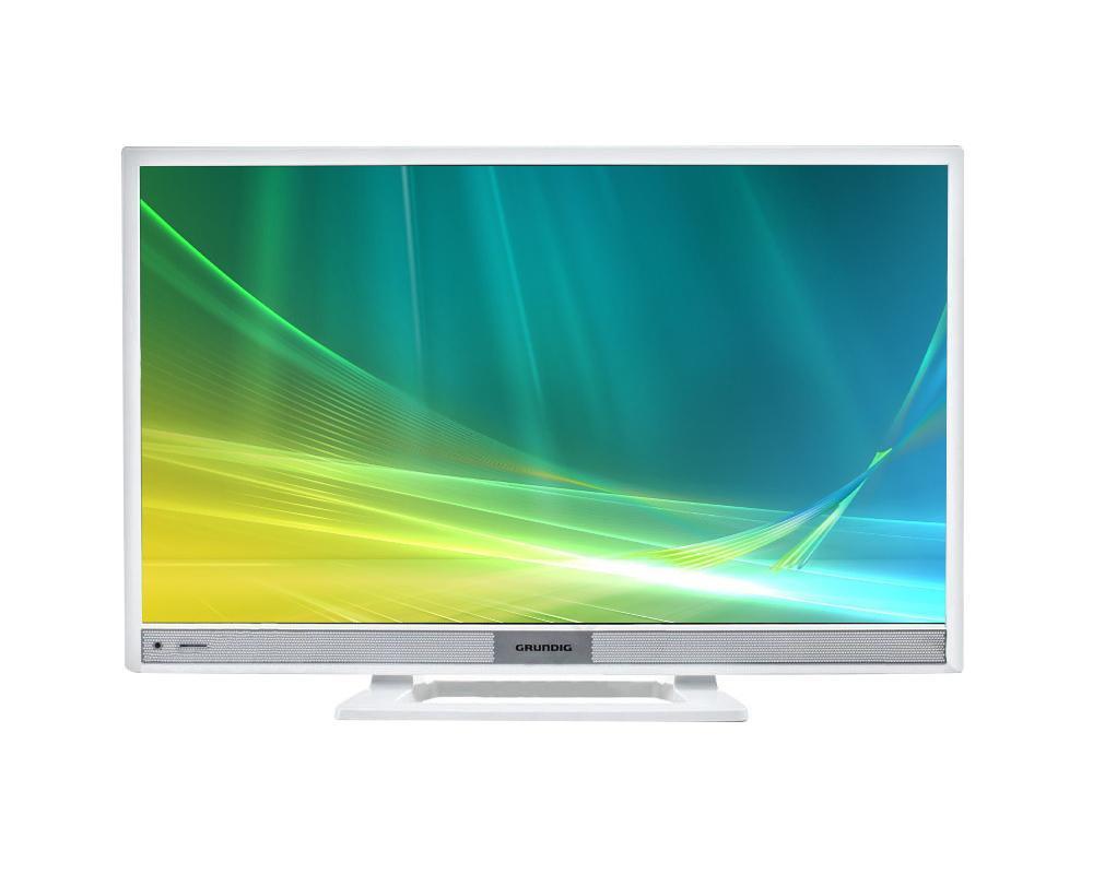 Grundig 28VLE4500WMMRQ000Grundig 28VLE4500WM – это прекрасный современный телевизор с полным набором всех необходимых функций. HD разрешение и LED подсветка обеспечивают непревзойденное качество изображения с насыщенными и яркими цветами, делая просмотр телепередач истинным удовольствием. Тонкая рамка повышает удобство просмотра, а строгий дизайн способен дополнить любой интерьер. Телевизор имеет все необходимое для комфортного и универсального использования: множество портов, функцию умного телевизора, возможность подключения к сети интернет. Полное погружение Представленная модель не оставит вас равнодушным к качеству ее изображения: HD разрешение позволяет добиться максимальной четкости и различить даже самые мелкие детали, а равномерная LED подсветка дает яркие, насыщенные цвета и картинку, максимально приближенную к реальной. Окунитесь в атмосферу происходящего на экране Получить максимум удовольствия от просмотра позволяет качественная...
