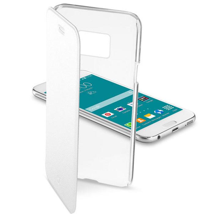 Cellular Line Clear Book чехол для Samsung Galaxy S6, WhiteCLEARBOOKGALS6WЧехол Cellular Line Clear Book для Samsung Galaxy S6 предназначен для защиты корпуса смартфона от механических повреждений и царапин в процессе эксплуатации. Имеет свободный доступ ко всем разъемам и кнопкам устройства.