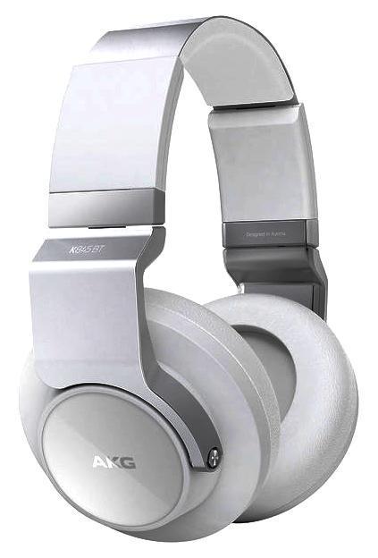 AKG K845BT, White наушникиK845BTWHTНаушники AKG K 845 BT имеют такую же конструкцию и дизайн, что и классическая Hi-Fi-модель K 545, однако оснащены приемником Bluetooth с технологией NFC. Стереотелефоны оснащены закрытыми чашками, в которых установлены динамические излучатели диаметром 50 мм. Благодаря этому AKG K 845 BT обладают расширенным басовым диапазоном и формируют широкую и насыщенную стереокартину. Широкое оголовье с удобным фиксатором-трещеткой легко настраивается на нужный размер и надежно сидит на голове. Мягкие амбушюры плотно и в то же время комфортно прижимаются к ушам. Прослушивать музыку в наушниках AKG K 845 BT можно без утомления в течение длительного времени. Наушники имеют встроенный приемник Bluetooth, и оснащены кнопками управления громкостью звука и старта/паузы воспроизведения, а также ответа на телефонный звонок. В одну из чашек наушников встроен датчик NFC, позволяющий автоматизировать спаривание наушников с совместимыми Bluetooth-устройствами. Для зарядки встроенного аккумулятора...