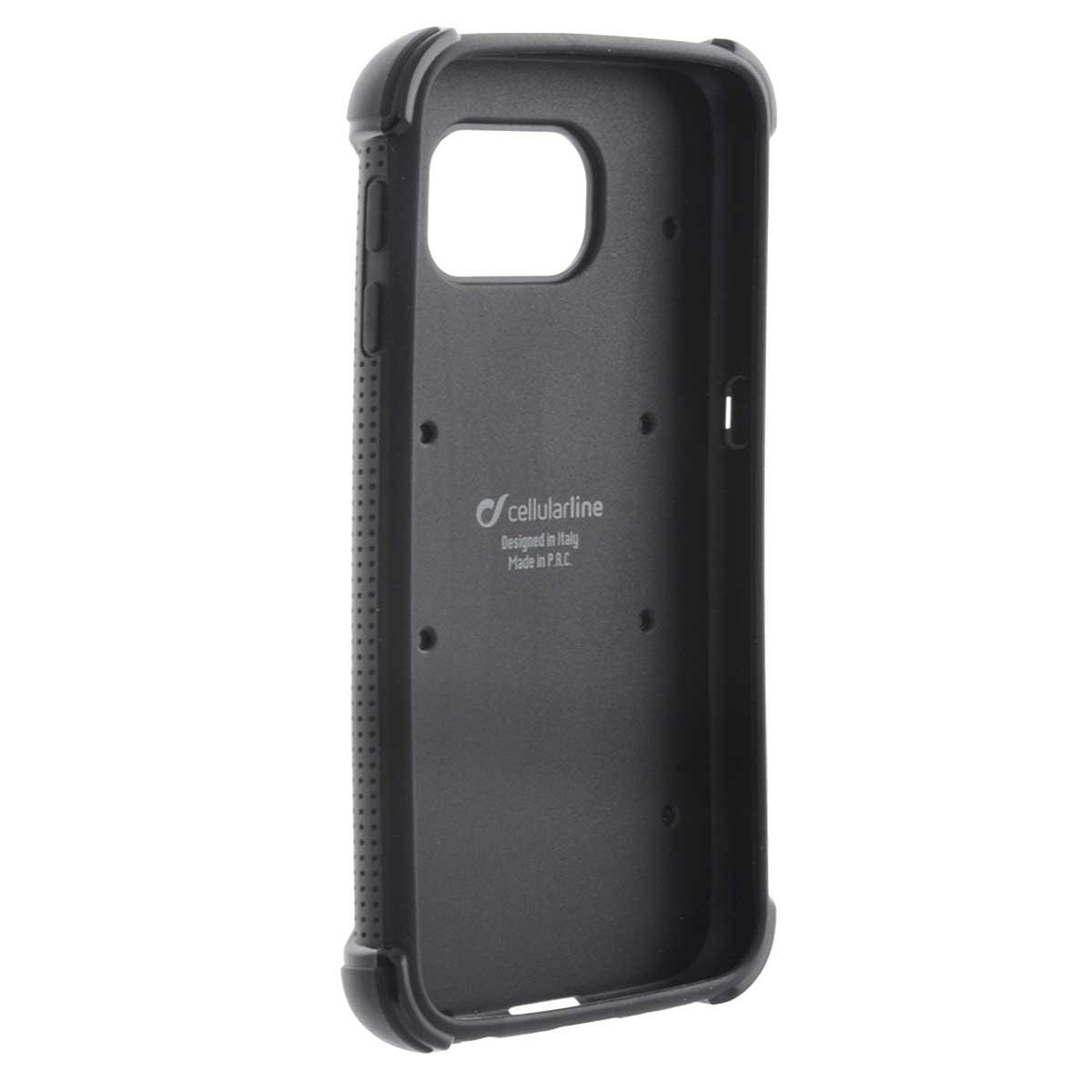 Cellular Line Hammer чехол для Samsung Galaxy S6, Black + защитная пленкаHAMMERCGALS6KCellular Line Hammer - стильный и прочный чехол для любителей высококачественных, дизайнерских и инновационных аксессуаров. Данная модель отлично защищает устройство от механических повреждений, царапин, и потертостей. Все разъемы и элементы управления смартфоном открыты и легко доступны.