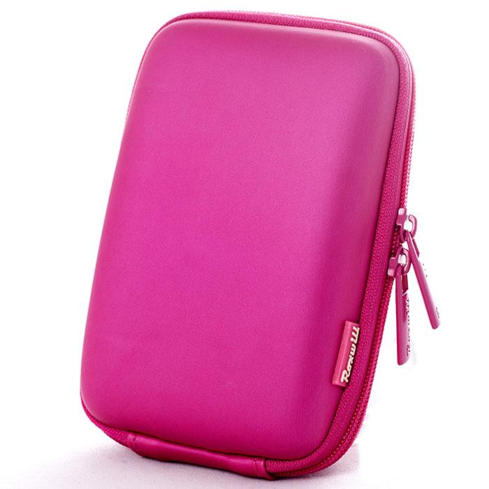 Roxwill C40, Pink чехол для фото- и видеокамерC40 pinkRoxwill C40 - надежный чехол для компактных фотокамер. Он гарантированно защитит вашу камеру от случайных ударов и царапин, а также от пыли и влаги. Изделие изготовлено из EVA (вспененная резина). Данный материал не подлежит воздействию агрессивных веществ и предохраняет фотоаппарат при падении. Для переноски предусмотрен регулируемый шейный ремешок и возможность крепления на поясном ремне.