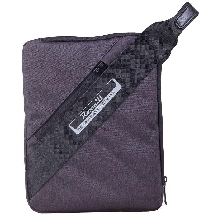 Roxwill Z10 чехол для планшета до 10, BlackZ10 blackЧехол - сумка Roxwill Z10 для планшетов с диагональю 10 изготовлена из плотного высококачественного нейлона, который надежно защитит содержимое от пыли, влаги и царапин. Для защиты от ударов он имеет подкладку из синтетического материала. Основной отдел предназначен планшета iPad, Samsung Tab 4 и других моделей размером 10. Чехол - сумка является современной модификацией популярной когда-то барсетки - у него есть удобный ремень на запястье.