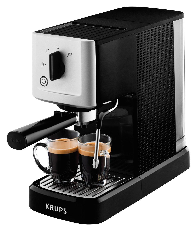 Krups XP344010 рожковая кофеваркаXP344010Система термоблок компакт (15 бар) Вода в термоблоке нагревается моментально и равномерно до оптимальной температуры 90–95°С и не застаивается внутри системы. Термоблок долговечен и в меньшей степени подвержен образованию накипи Вариации использования Приготовление 1 или 2 чашек, использование порционного кофе