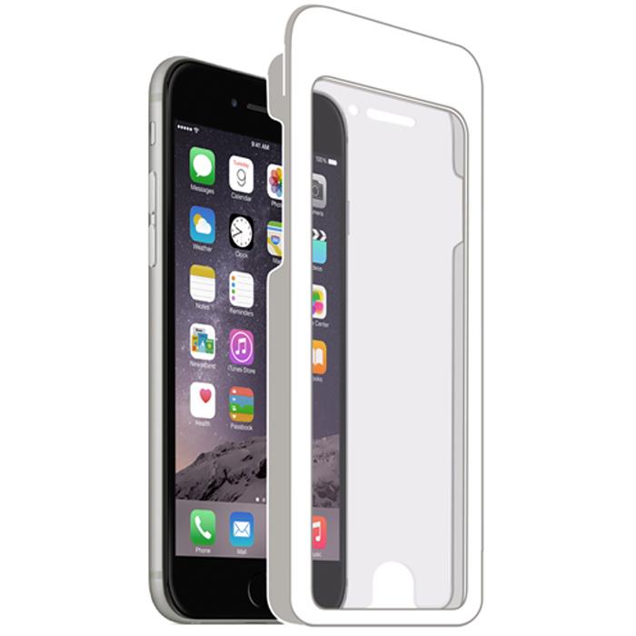 Deppa защитное стекло для Apple iPhone 6 Plus, прозрачное и рамка для легкой установки (0.2 мм)61955Защитное стекло Deppa для Apple iPhone 6 Plus защитит ваше устройство от царапин, ударов, потертостей, грязи и пыли. Легко устанавливается благодаря рамке, идущей в комплекте, и идеально подходит для экрана.