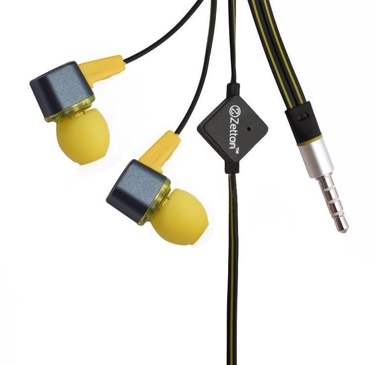 Zetton Square, Black Yellow гарнитура (ZTLSHSSQU)ZTLSHSSQUBYСтерео гарнитура предназначена для разговора по телефону без помощи рук и прослушивания музыки. Легкий алюминиевый корпус серого цвета, с пластиковой вставкой и цветными резиновыми амбушюрами.