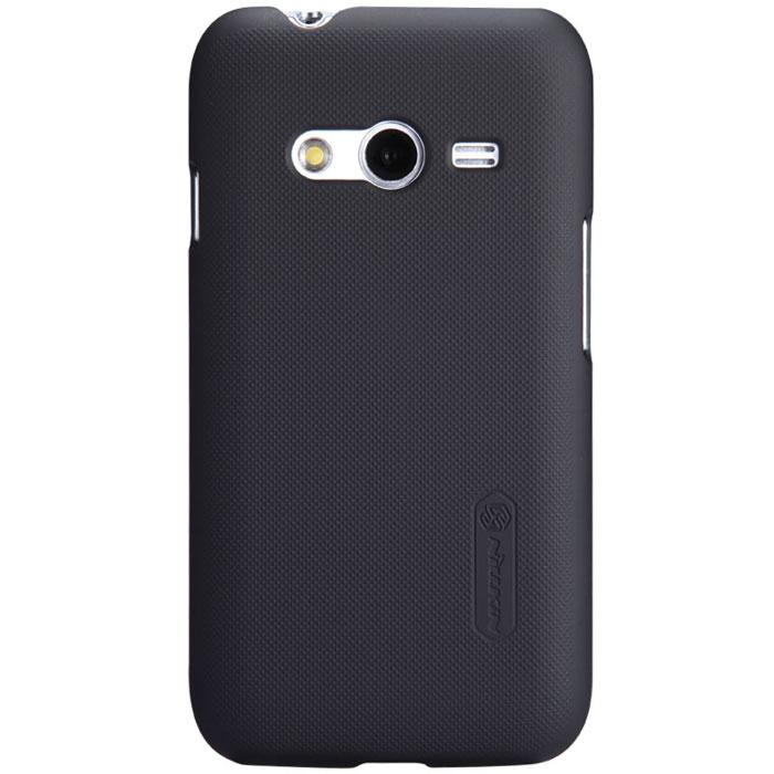 Nillkin Super Frosted Shield чехол для Samsung Galaxy Ace NXT, BlackT-N-SGNXT-002Накладка Nillkin Super Frosted Shield для Samsung Galaxy Ace NXT выполнена из высококачественного поликарбоната. Она защищает боковые стороны и заднюю крышку смартфона и надежно фиксирует телефон. Накладка также обеспечивает свободный доступ ко всем разъемам и клавишам устройства.