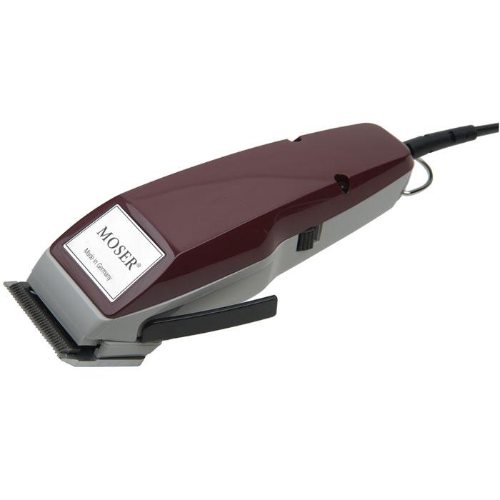 Moser машинка для стрижки (1400-0051)1400-0051Машинка для стрижки волос Moser 1400-0051 снабжена системой MultiClick, что позволяет регулировать длину стрижки на 5 устанавливаемых позиций от 0,1 до 3 мм. Модель оснащена бесшумным и мощным вибрационным мотором, позволяющим стричь волосы любой жесткости, а также оборудована ножами из нержавеющей стали, которые отличаются высокой прочностью и долговечностью.