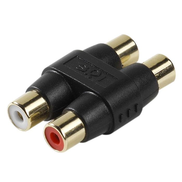 Vivanco Sound & Image 2xRCA (гнездо)-2xRCA (гнездо) аудиоадаптер31982Аудиоадаптер Vivanco 31982 подходит для кабелей с коннектором RCA.