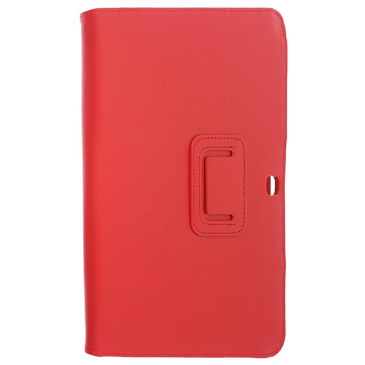 IT Baggage чехол для Samsung Galaxy Tab 4 10.1, RedITSSGT1042-3IT Baggage для Samsung Galaxy Tab 4 10.1 - удобный чехол для вашего планшета. Он сохранит ваш планшет от царапин, пыли и грязи. Даже при частом использовании в нём вашего планшетного компьютера, его хватит на несколько лет. Может быть использован в качестве подставки для чтения книг и просмотра фильмов.