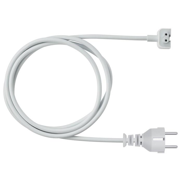 Apple Power Adapter Extension Cable удлинитель для адаптера питания (MK122Z/A)MK122Z/AУдлинитель Apple Power Adapter Extension Cable - это кабель питания для сети переменного тока, удлиняющий адаптер питания Apple. Его можно использовать с USB-адаптерами питания MagSafe и MagSafe 2 мощностью 10, 12 и 29 Вт.