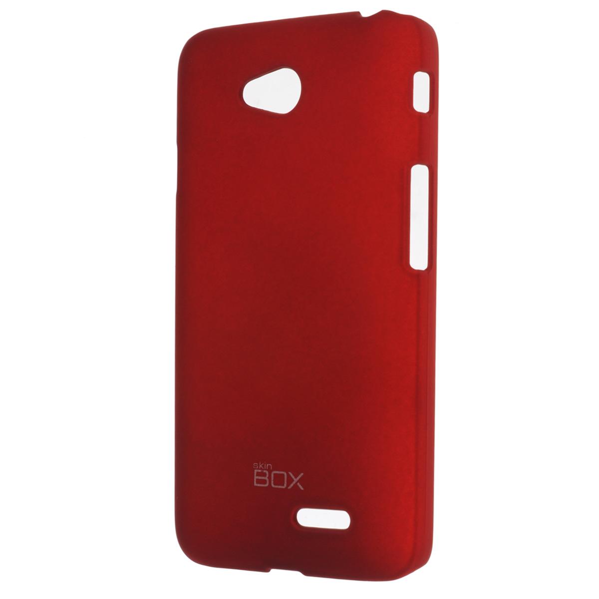 Skinbox Shield 4People чехол для LG L70 Dual, RedT-S-LL70-002Чехол Skinbox Shield 4People для LG L70 предназначен для защиты корпуса смартфона от механических повреждений и царапин в процессе эксплуатации. Имеется свободный доступ ко всем разъемам и кнопкам устройства. В комплект также входит защитная пленка на экран телефона.