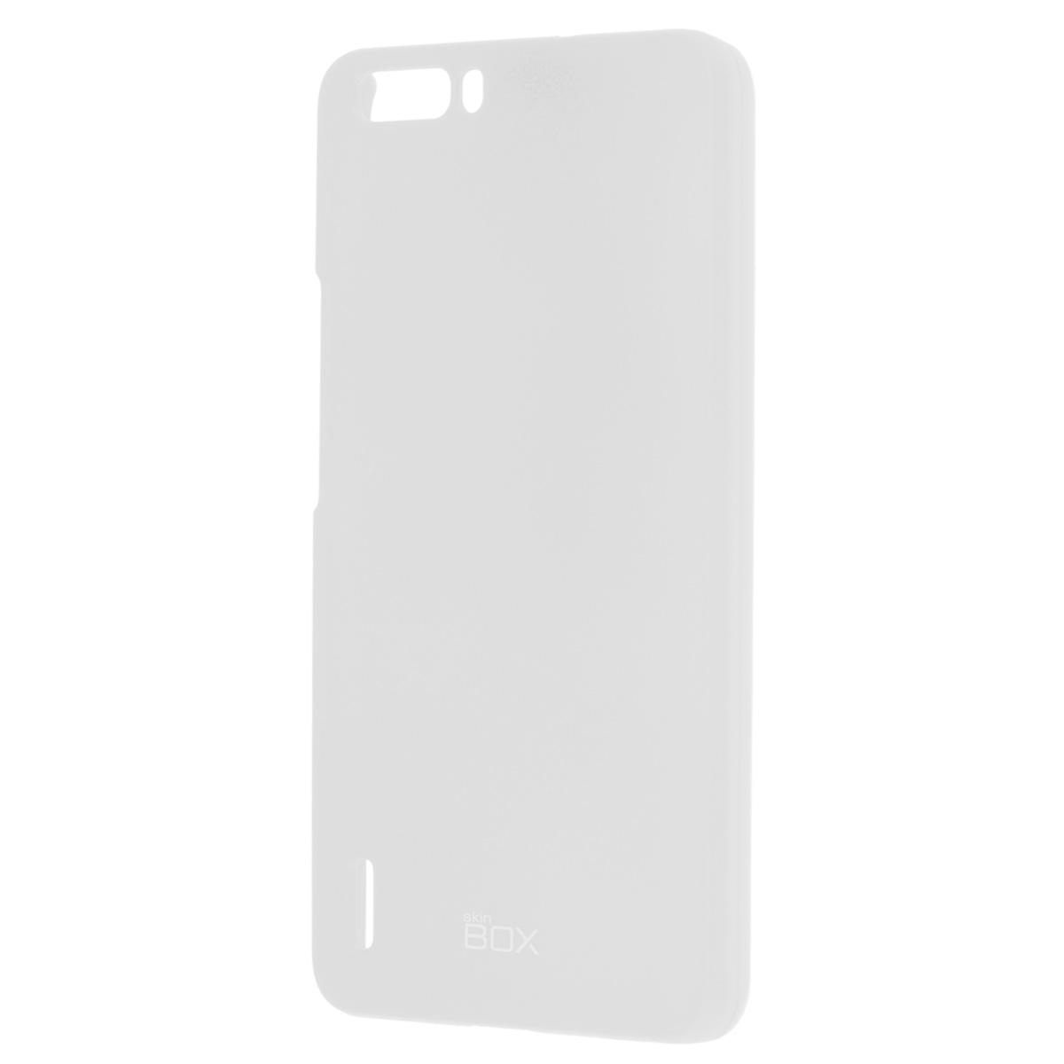 Skinbox Shield 4People чехол для Huawei Honor 6 Plus, WhiteT-S-HH6P-002Накладка Skinbox Shield 4People для Huawei Honor 6 Plus обеспечивает амортизацию удара при непредвиденном падении устройства, а также защитит его от пыли, отпечатков пальцев и царапин. Обеспечивает свободный доступ ко всем разъемам и клавишам устройства.