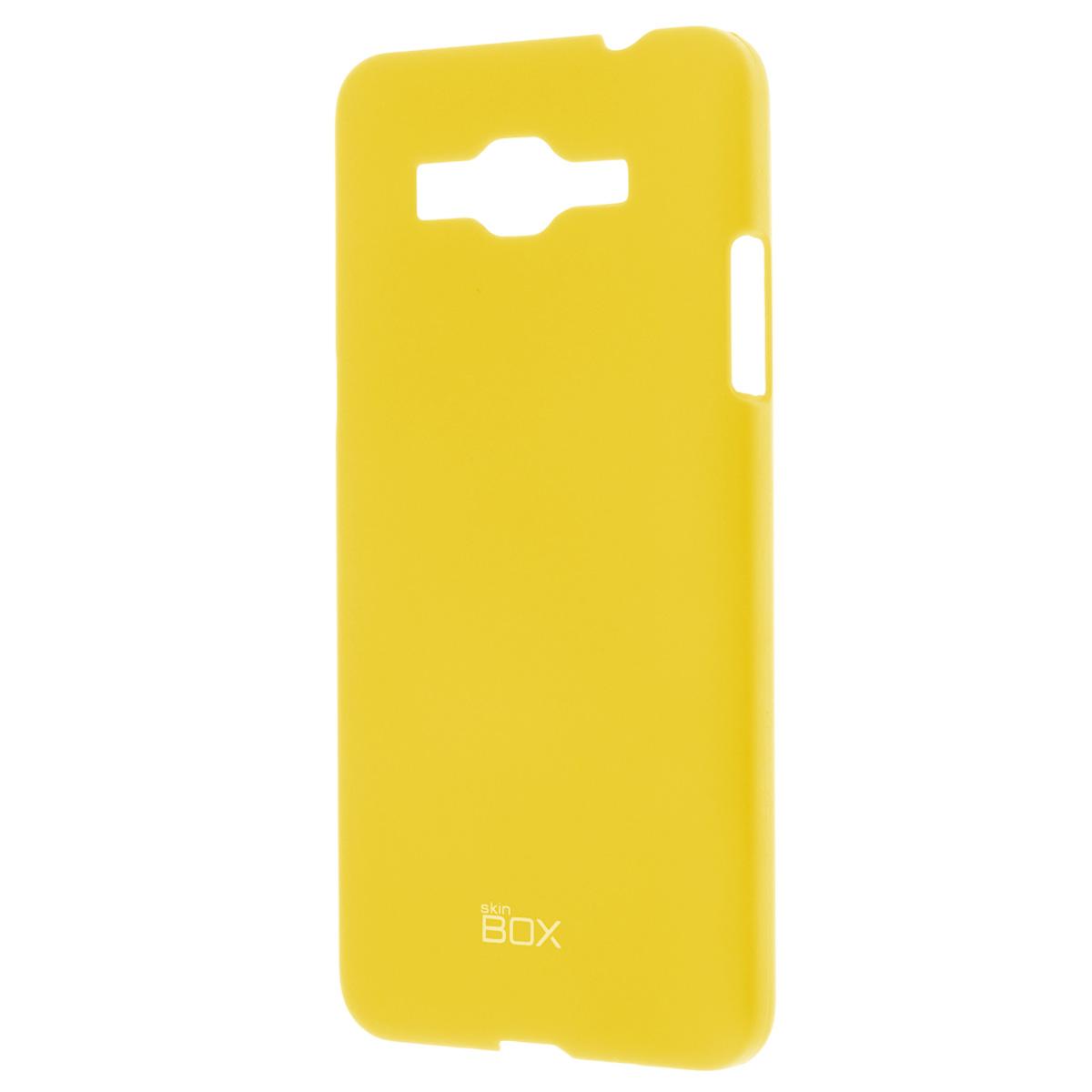 Skinbox Shield 4People чехол для Samsung Galaxy Grand Prime, YellowT-S-SG530-002Чехол Skinbox Shield 4People для Samsung Galaxy Grand Prime предназначен для защиты корпуса смартфона от механических повреждений и царапин в процессе эксплуатации. Имеется свободный доступ ко всем разъемам и кнопкам устройства. В комплект также входит защитная пленка на экран телефона.