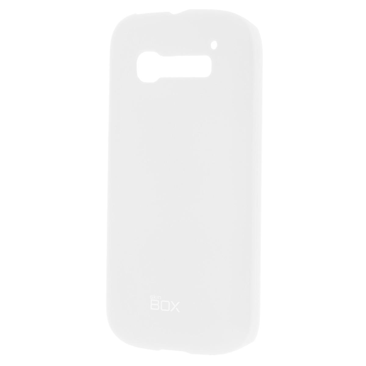 Skinbox Shield 4People чехол для Alcatel 5036D С5, WhiteT-S-A5036D-002Чехол Skinbox Shield 4People для Alcatel One Touch Pop C5 предназначен для защиты корпуса смартфона от механических повреждений и царапин в процессе эксплуатации. Имеется свободный доступ ко всем разъемам и кнопкам устройства. В комплект также входит защитная пленка на экран телефона.